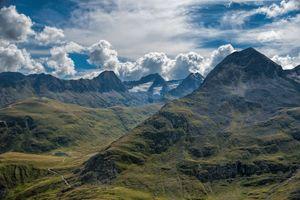 Заставки Тироль,Австрия,горы,небо,облака,природа,пейзаж