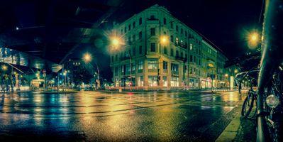 Фото бесплатно Берлин, Эберсвальдер-штрассе, дорога