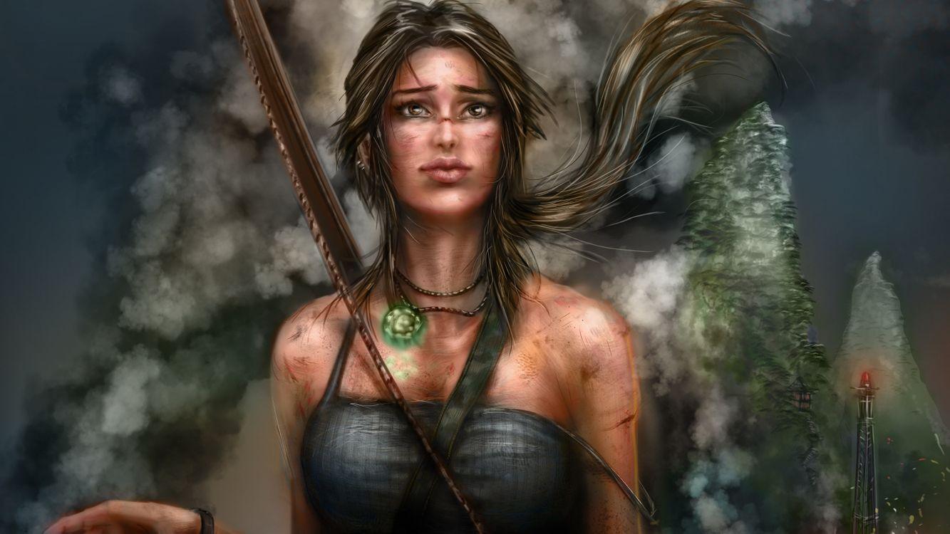 Фото бесплатно игры, художник, Lara Croft - на рабочий стол
