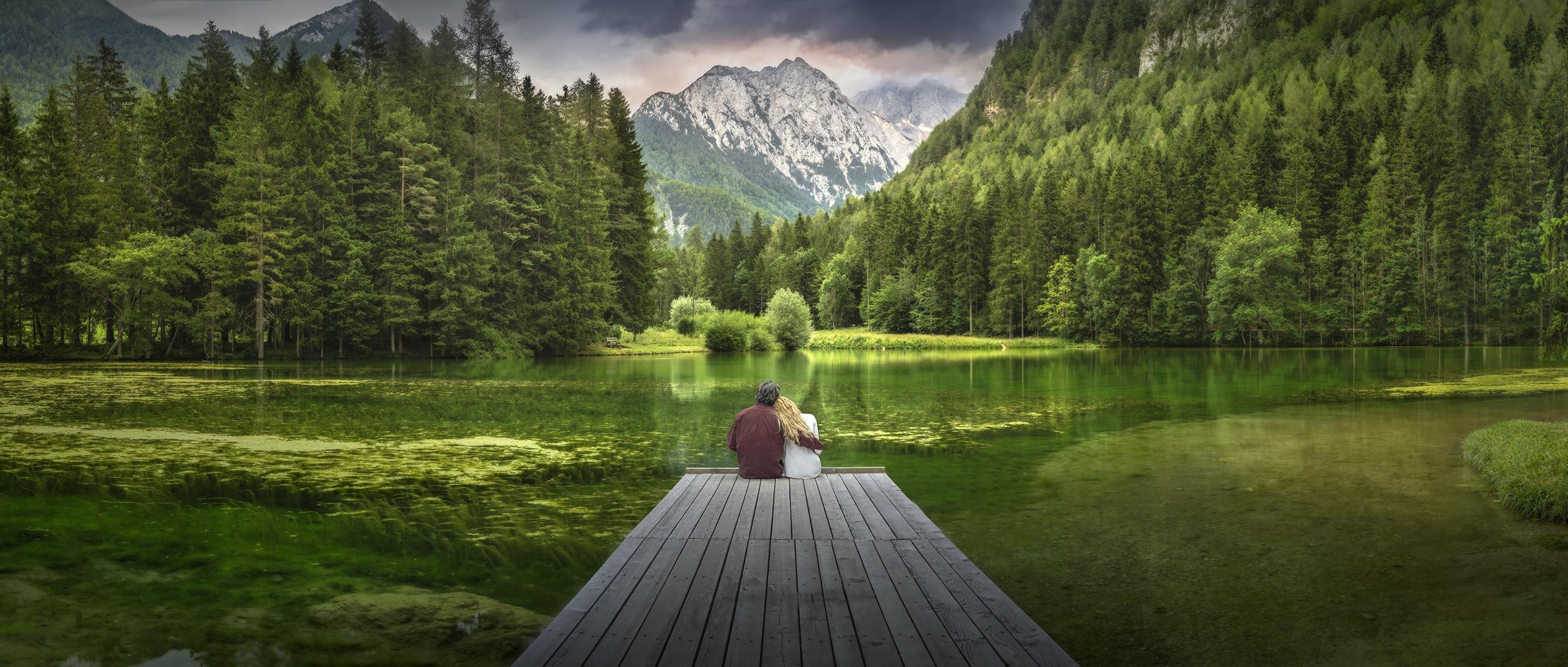 Обои Плитвицкие озера хорватский национальный парк, Плитвицкие Озера, Хорватия, панорама
