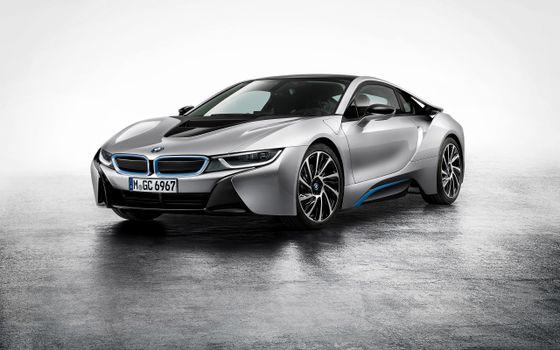 Photo free car exterior, BMW I8, land transport