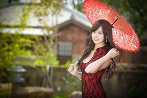 Photo free asian, hands, girls umbrella