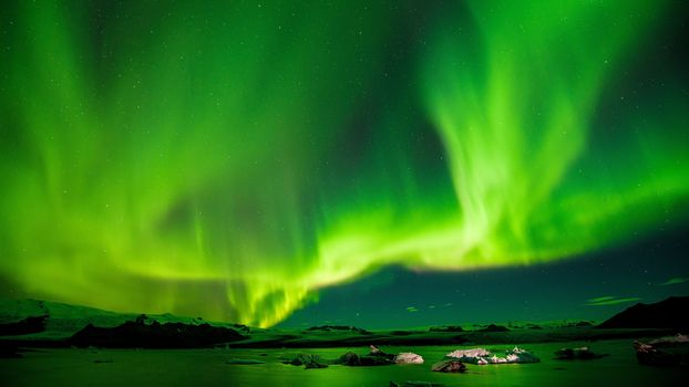 Photo free iceland, aurora borealis, green