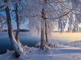 Фото бесплатно пейзаж, савонлинна, закат