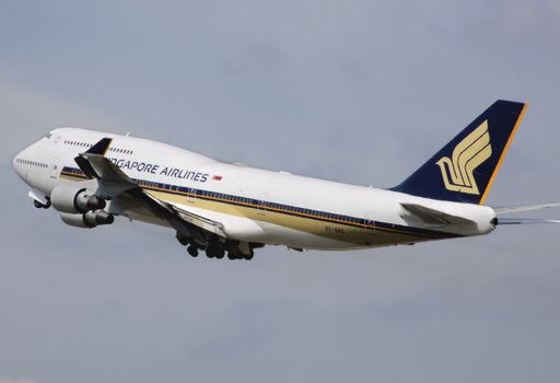 Photo free passengers, boeing 747 400, airline