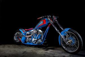 Фото бесплатно Harley Davidson, мотоцикл, автомобиль