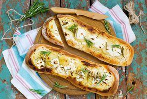 Фото бесплатно продукты питания, картофель, багеты