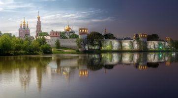 Бесплатные фото Новодевичий монастырь,Богородице-Смоленский монастырь,Москва,Россия