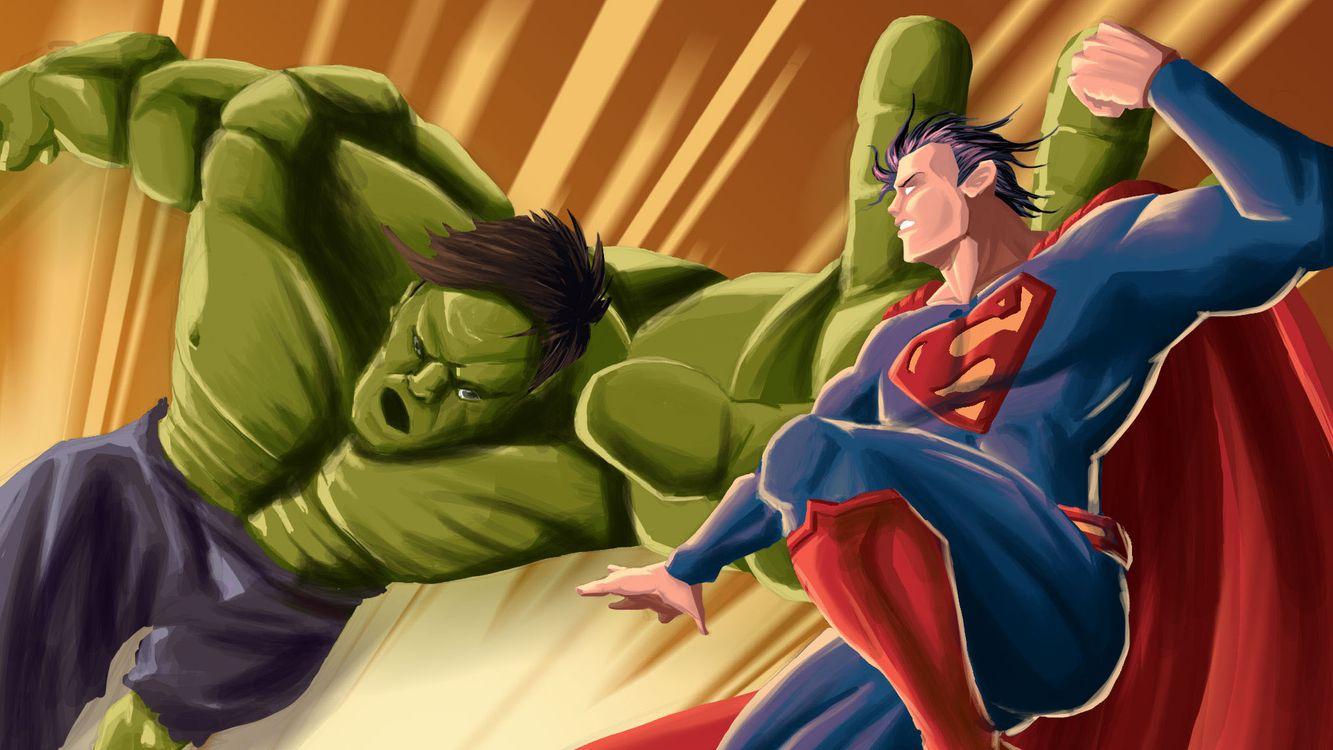 Фото бесплатно Hulk, Супермен, супергерои - на рабочий стол