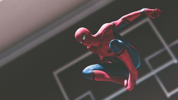 Фото бесплатно 2018 Games, игр PS, Spiderman Ps4