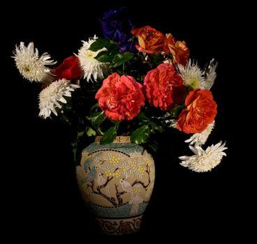 Фото бесплатно флоры, букет, ваза