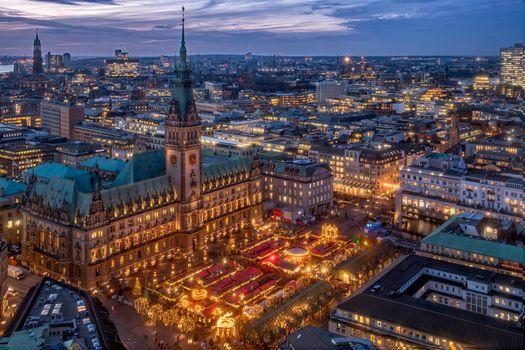 Фото бесплатно Гамбург, Германия, город