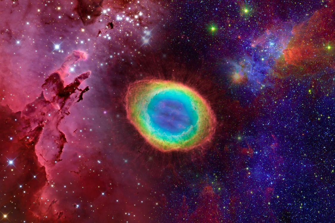 Фото бесплатно космос, вселенная, планеты, свечение, невесомость, вакуум, галактика, art, космос
