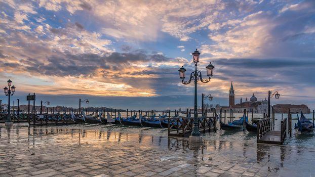 Фото бесплатно Венеция, канал, Италия