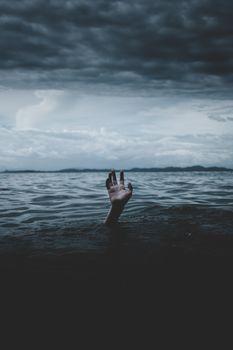 Photo free water, hand, sea