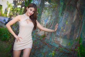 Фото бесплатно молодая женщина, азиатские девушки, коричневые волосы