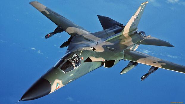 Photo free airplane, fighter, flies