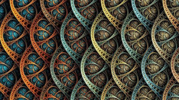 Фото бесплатно фрактал, геометрия, формы
