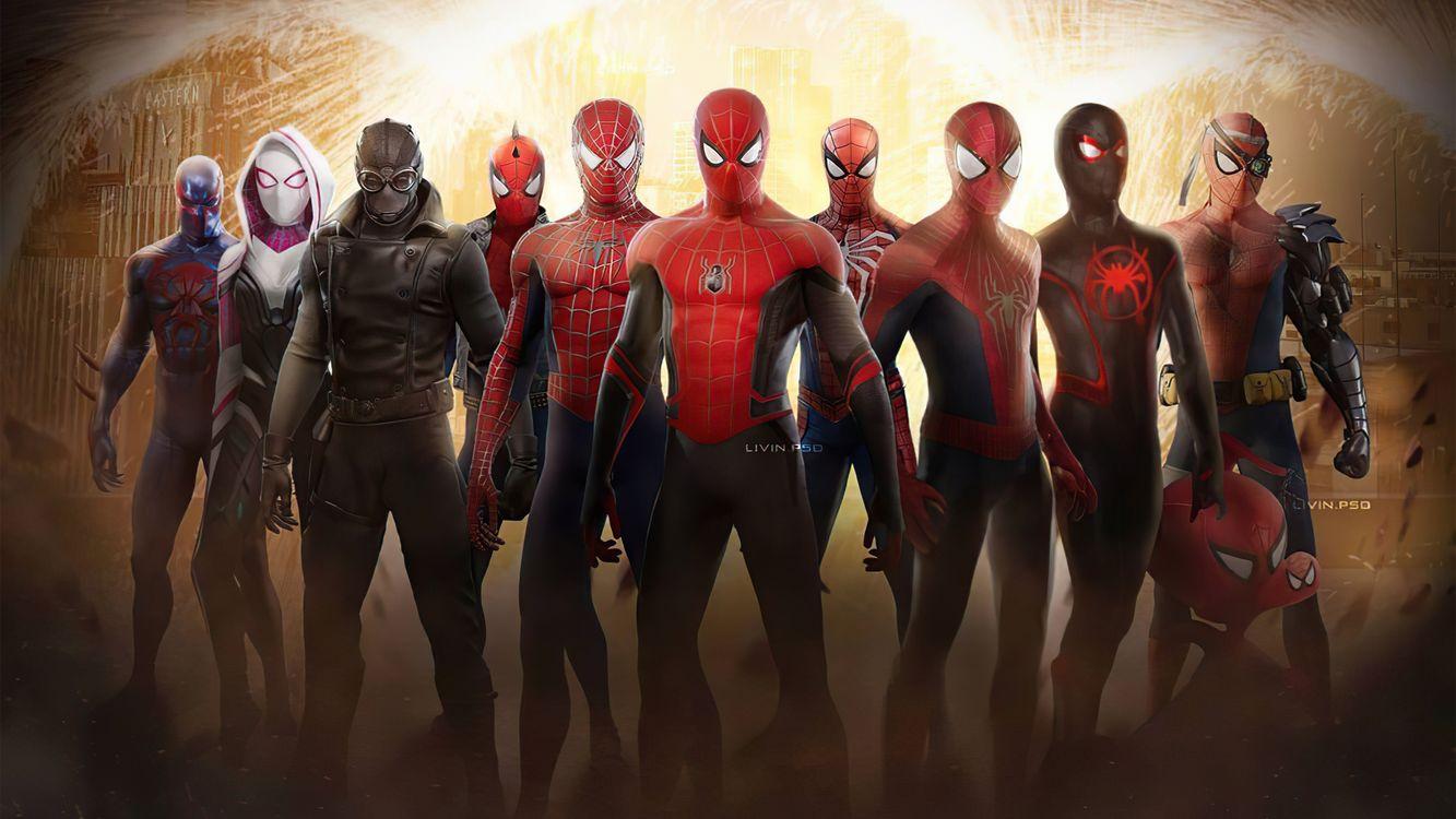 Фото художник произведение искусства Человек-паук - бесплатные картинки на Fonwall