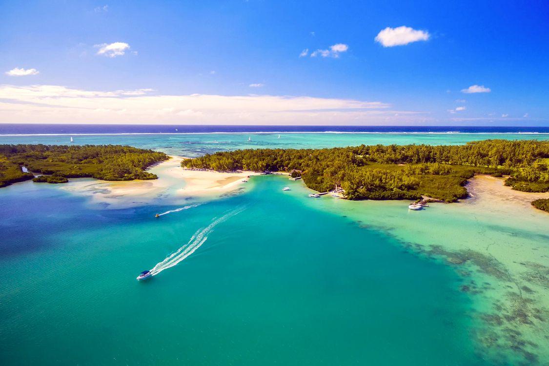 Фото бесплатно море, острова, лодки - на рабочий стол