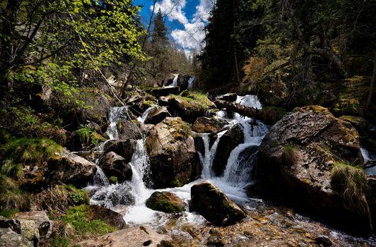 Photo free nature, Andorra, brook