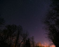 The night sky · free photo