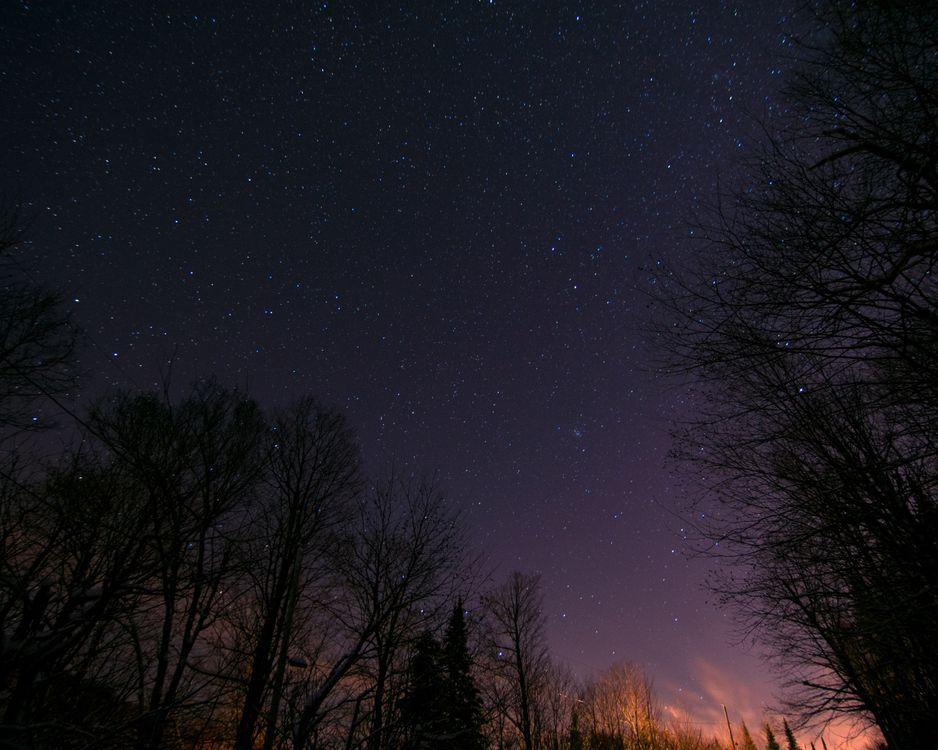 Ночное небо · бесплатное фото