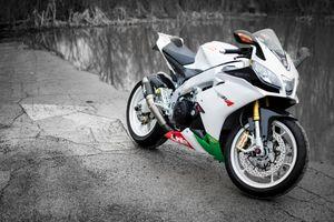 Фото бесплатно белый, Honda CBR1000RR, спортивный мотоцикл