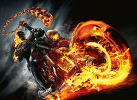 Фото бесплатно Ghost Rider, призрачный гонщик, фантазия