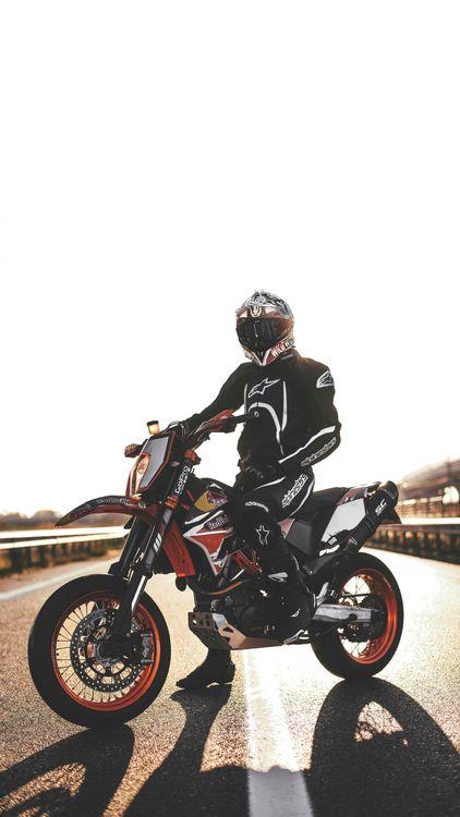 Motorcyclist · free photo