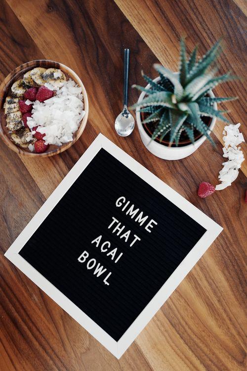 Фото бесплатно текст, продукты питания, миски - на рабочий стол