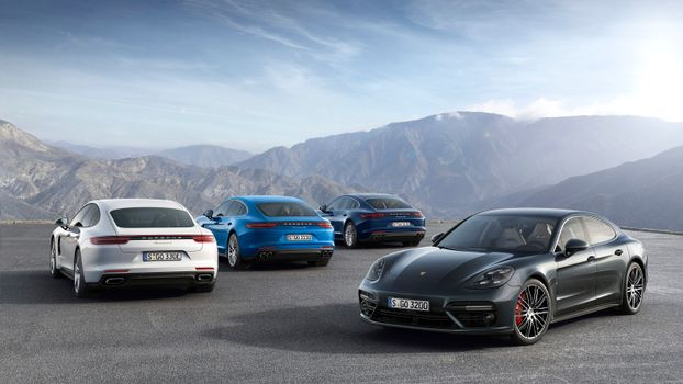 Фото бесплатно Porsche Panamera, Porsche, автомобили