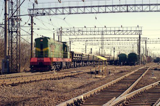 Photo free railway, Russian, train