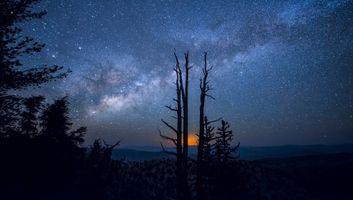 Фото бесплатно солнечный свет, пейзаж, ночь