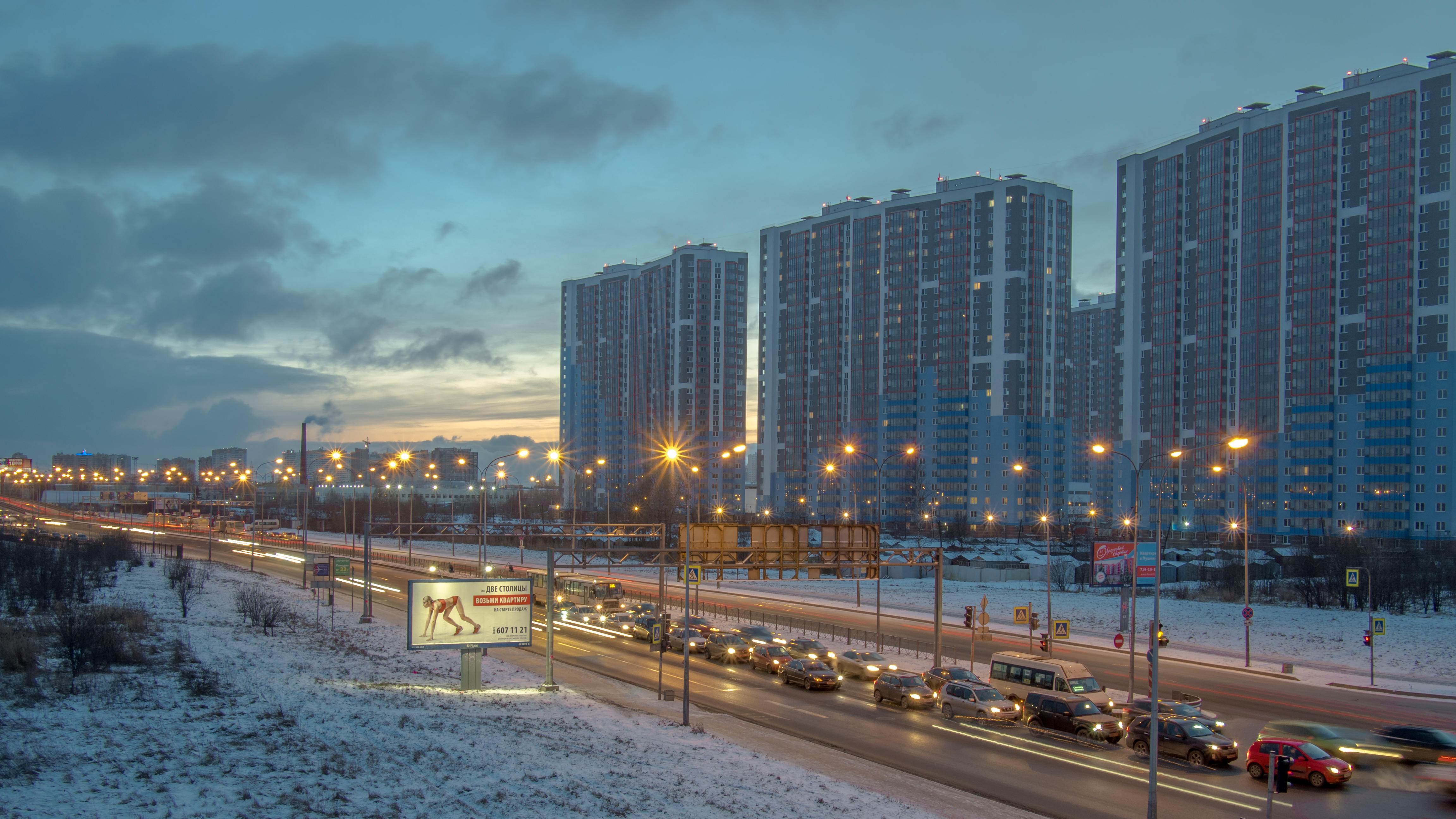 обои Vitebskiy prospect, St Petersburg картинки фото
