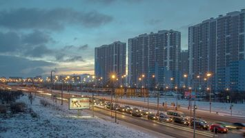 Обои Vitebskiy prospect, St Petersburg