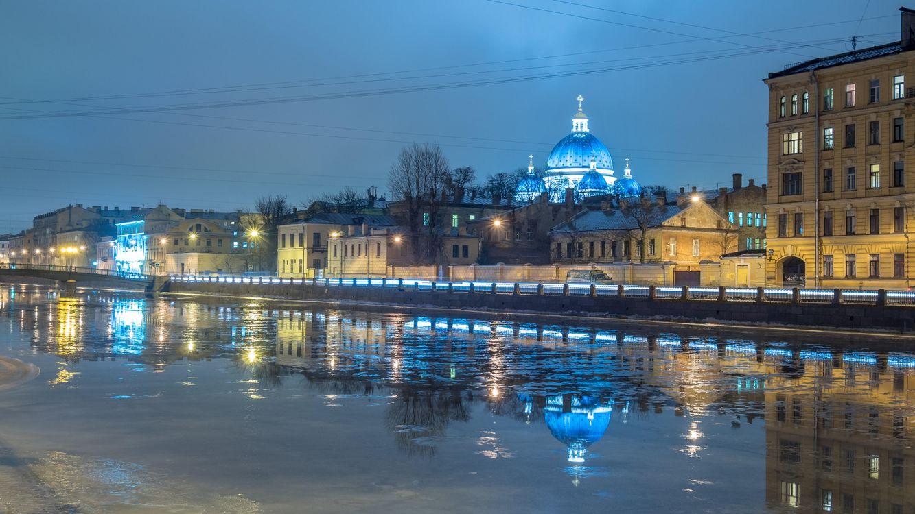 Фото бесплатно Trinity cathedral, St Petersburgh, город