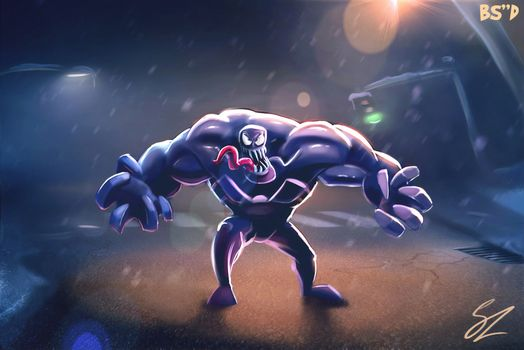 Фото бесплатно Venom, супергерои, Deviantart