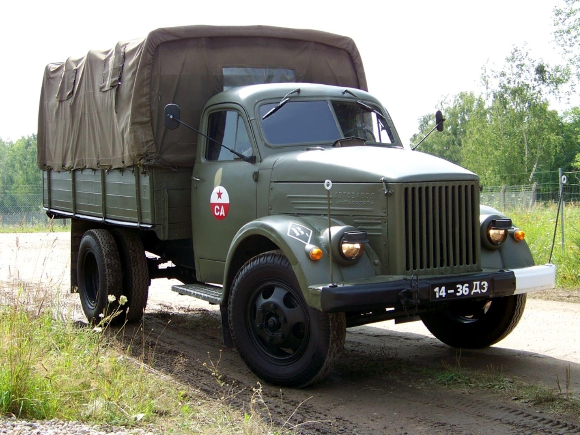Обои автомобиль, ГАЗ- 51, грузовик