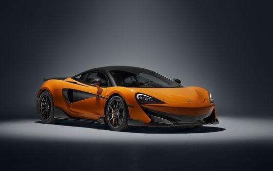 Photo free Mclaren 600LT, orange, cars