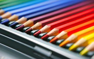 Фото бесплатно красочные, карандаши, рисование