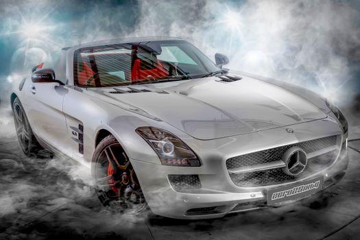 Фото бесплатно Mercedes Benz SLS 6 3 AMG Performance Edition, автомобиль, легковая