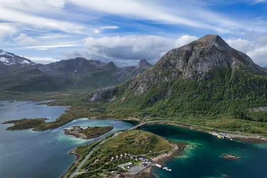 Photo free landscapes, Lofoten, mountains Norway