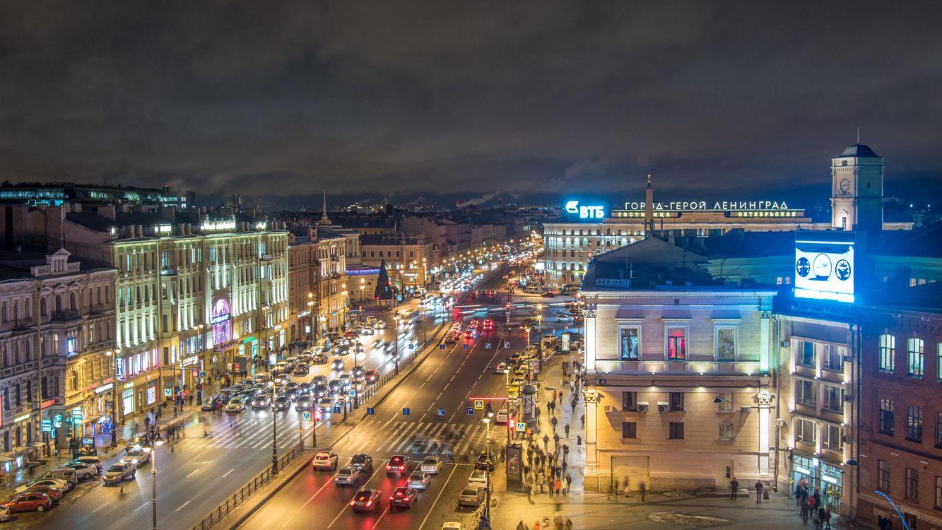 Фото бесплатно Площадь Восстания, Санкт-Петербург, город