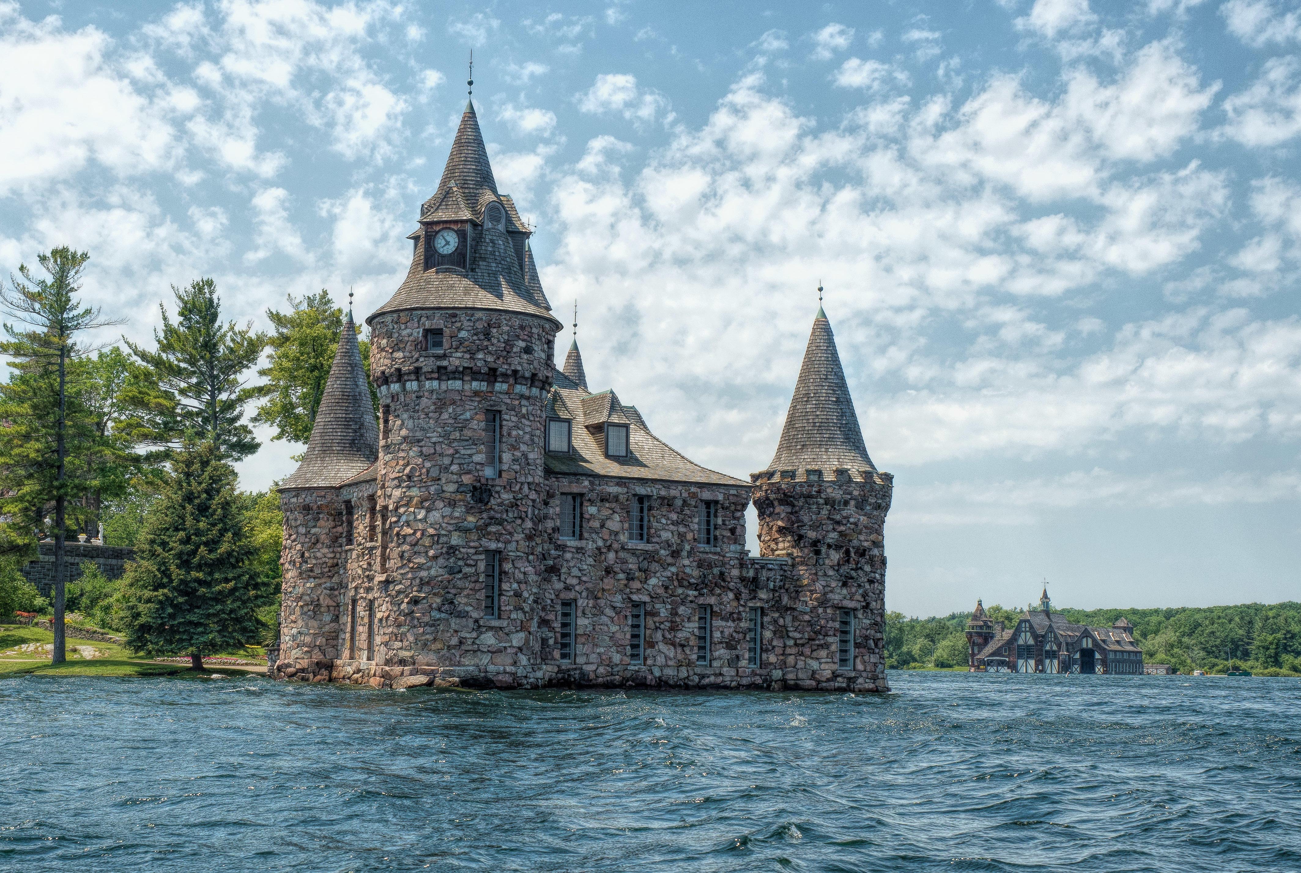 Обои Александрийский залив, Замок Болдт, Канада, Озеро Онтарио