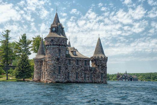 Фото бесплатно Река Святого Лаврентия, Озеро Онтарио, Замок Болдт