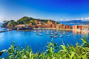 Бесплатные фото Италия,Лигурия,Сестри Леванте,море,яхты