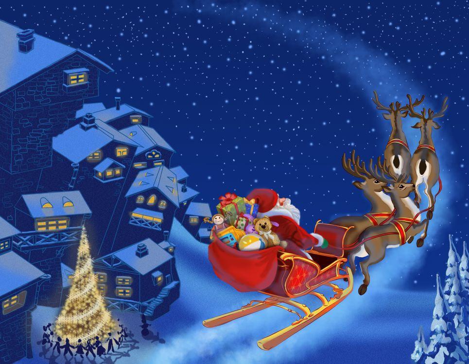 Санта Клаус · бесплатное фото
