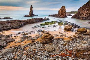 Фото бесплатно море, скалы, берег