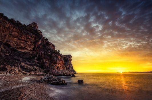 Фото бесплатно побережье, пляж, песок